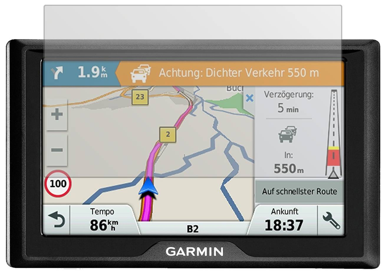 6x garmin drive 5 mt s eu schutzfolie matt. Black Bedroom Furniture Sets. Home Design Ideas